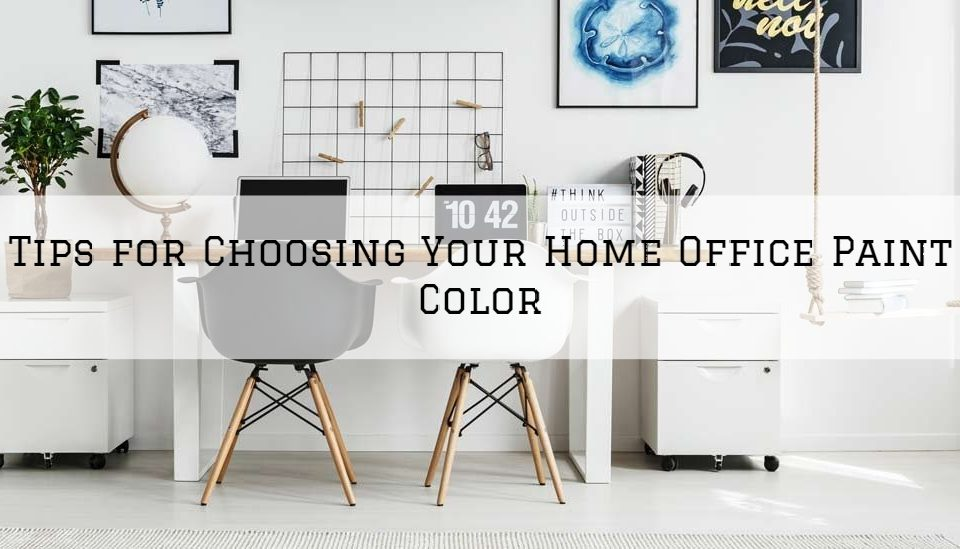 Tips for Choosing Your Home Office Paint Color in Shelby County, KY