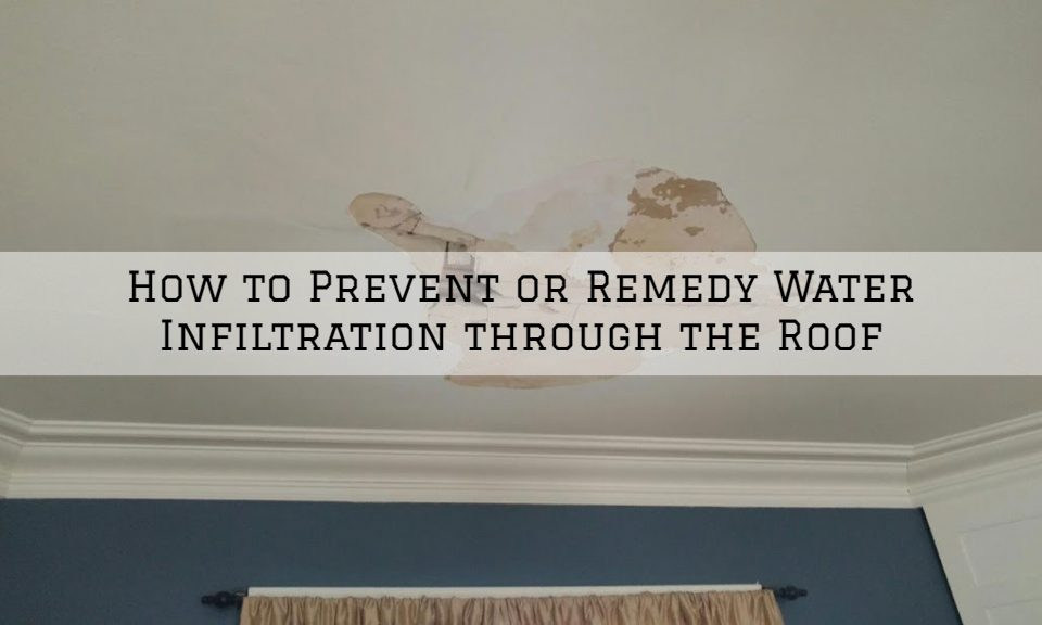 How to Prevent or Remedy Water Infiltration through the Roof Louisville, KY_