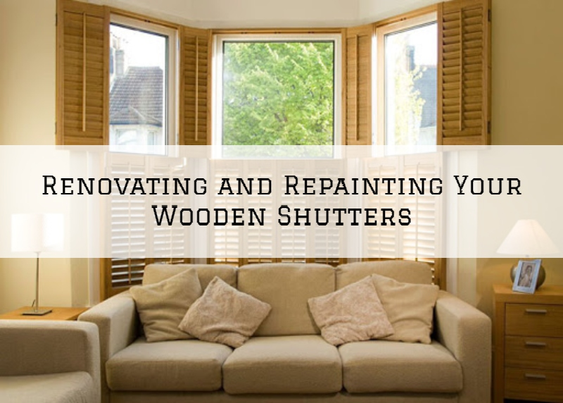 Renovating and Repainting Your Wooden Shutters in Jefferson Town, KY